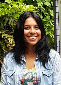 Jennifer Durant-Vesga, étudiante en thèse qui a assisté à une conférence en 2018 grâce à une bourse de voyage de la SFBD