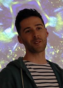 Laurent Formery, étudiant en thèse lauréat d'une bourse de voyage