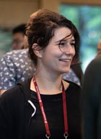 Sarah Dinvaut, étudiante en thèse qui s'est rendue à une conférence grâce au soutien de la SFBD